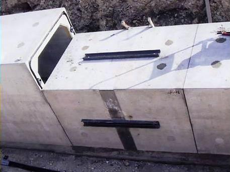 可とうボックスカルバートの施工例