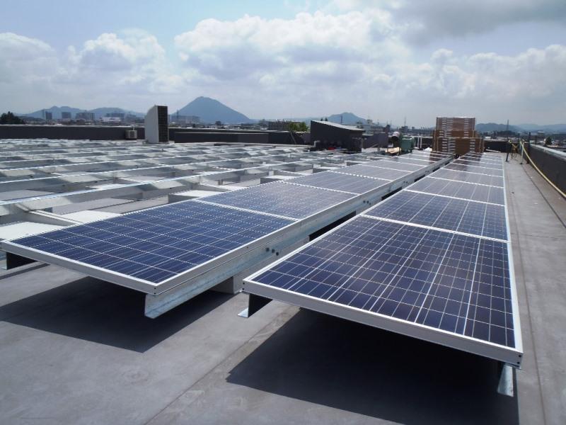 ソーラーキーパー屋上設置用S型の施工例