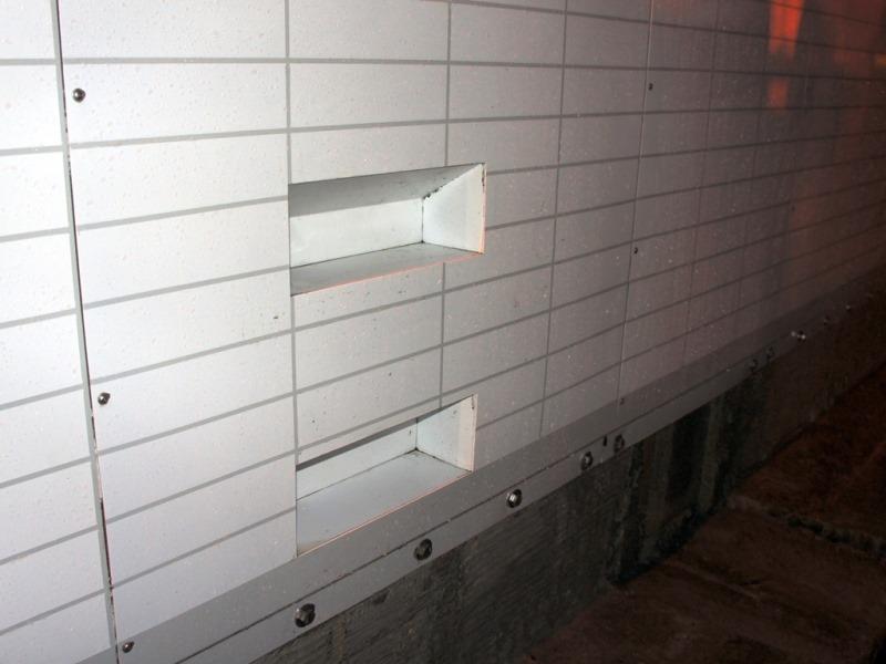 高速道路関連施設の監視員通路補修工法(Easy Pnel:イージーパネル)の施工例
