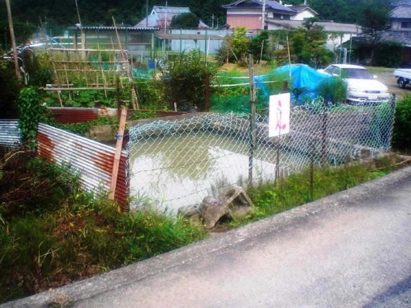 既設無蓋防火水槽の有蓋化施工例