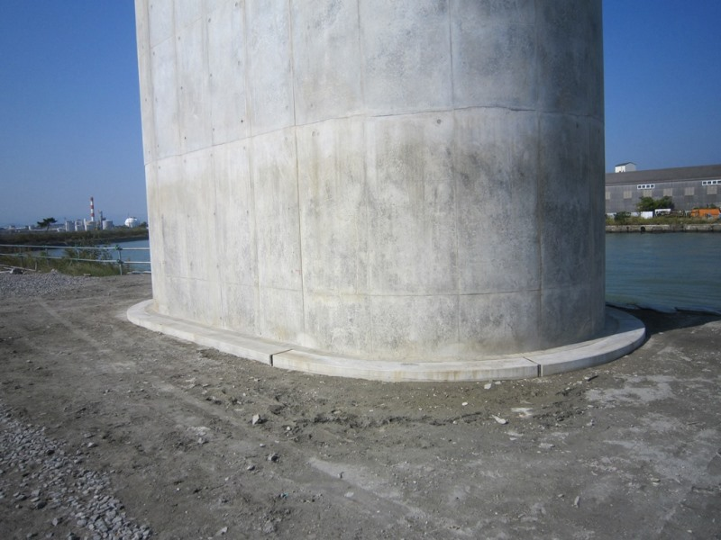 鞘管ブロックの施工例