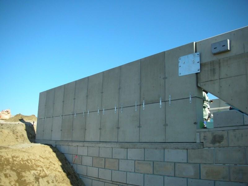 L型剛性防護柵(2分割)の施工例