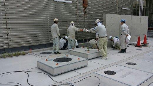 ハレーサルト仕様のPC床版の施工例