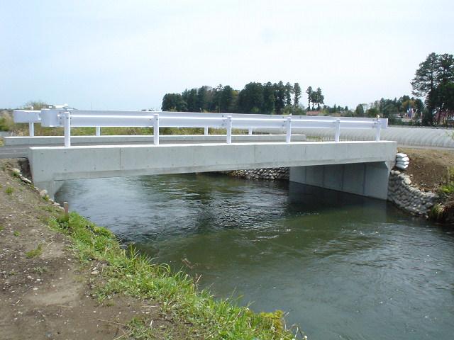 橋梁代替の施工例