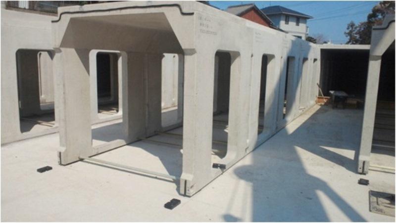 地下貯留施設の施工例