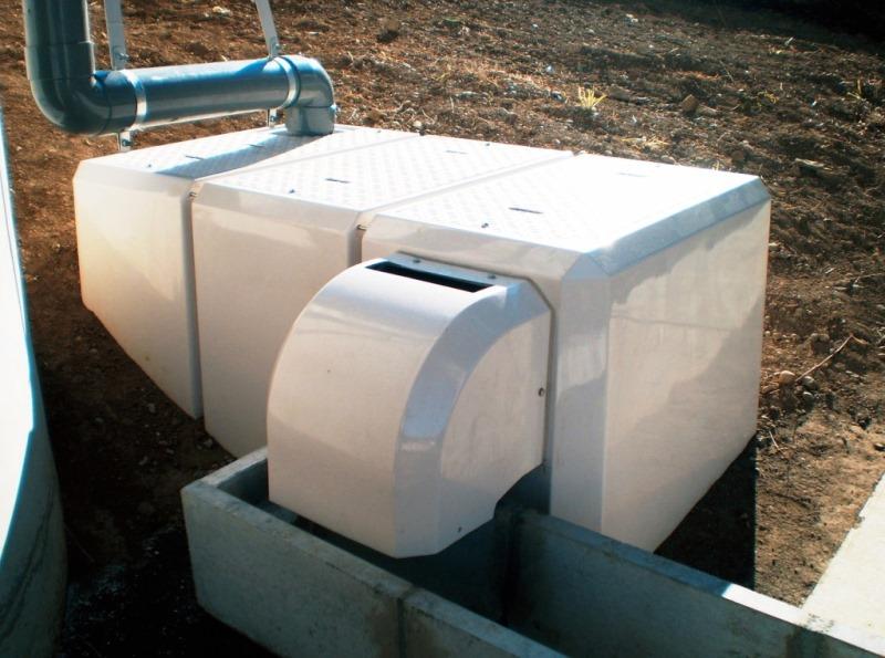 油水分離桝FRP製O-type(小型UNタイプ)施工例