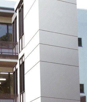 プレキャストPCエレベーターシャフトの公共施設での施工例