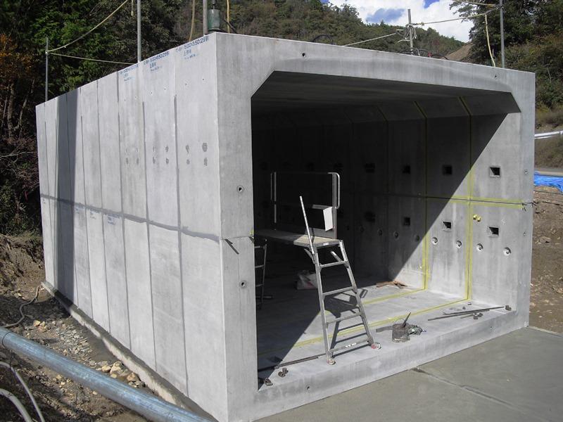 2分割BOXカルバート・4分割BOXカルバートの施工例