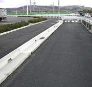 排水性舗装対応エプロン ケイコン 製品・工法