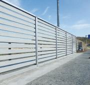 コンクリート製防風板柵 ケイコン 製品・工法